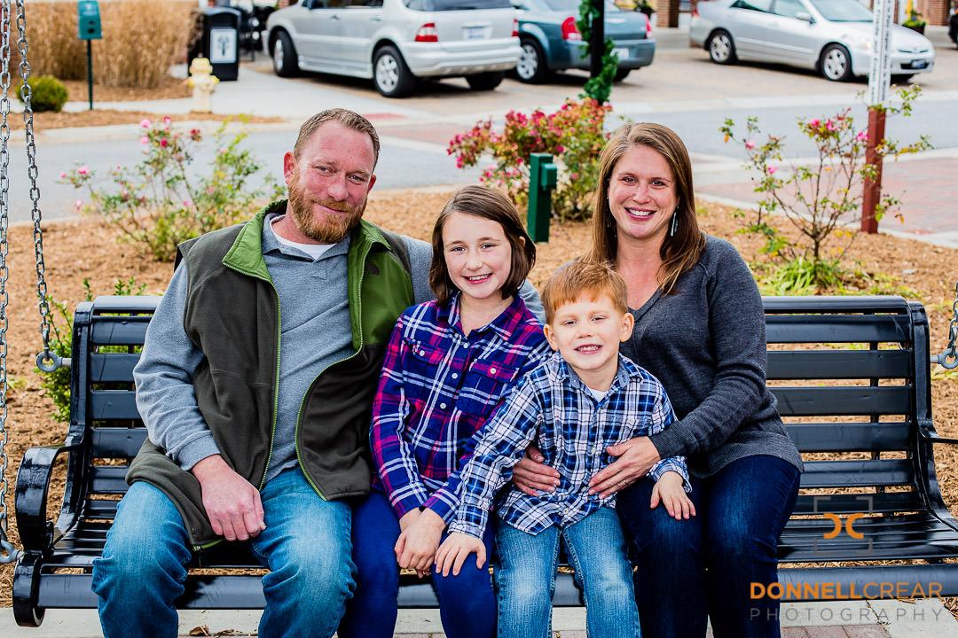 Downtown Fountain Inn Portraits | Sutton Family Portraits
