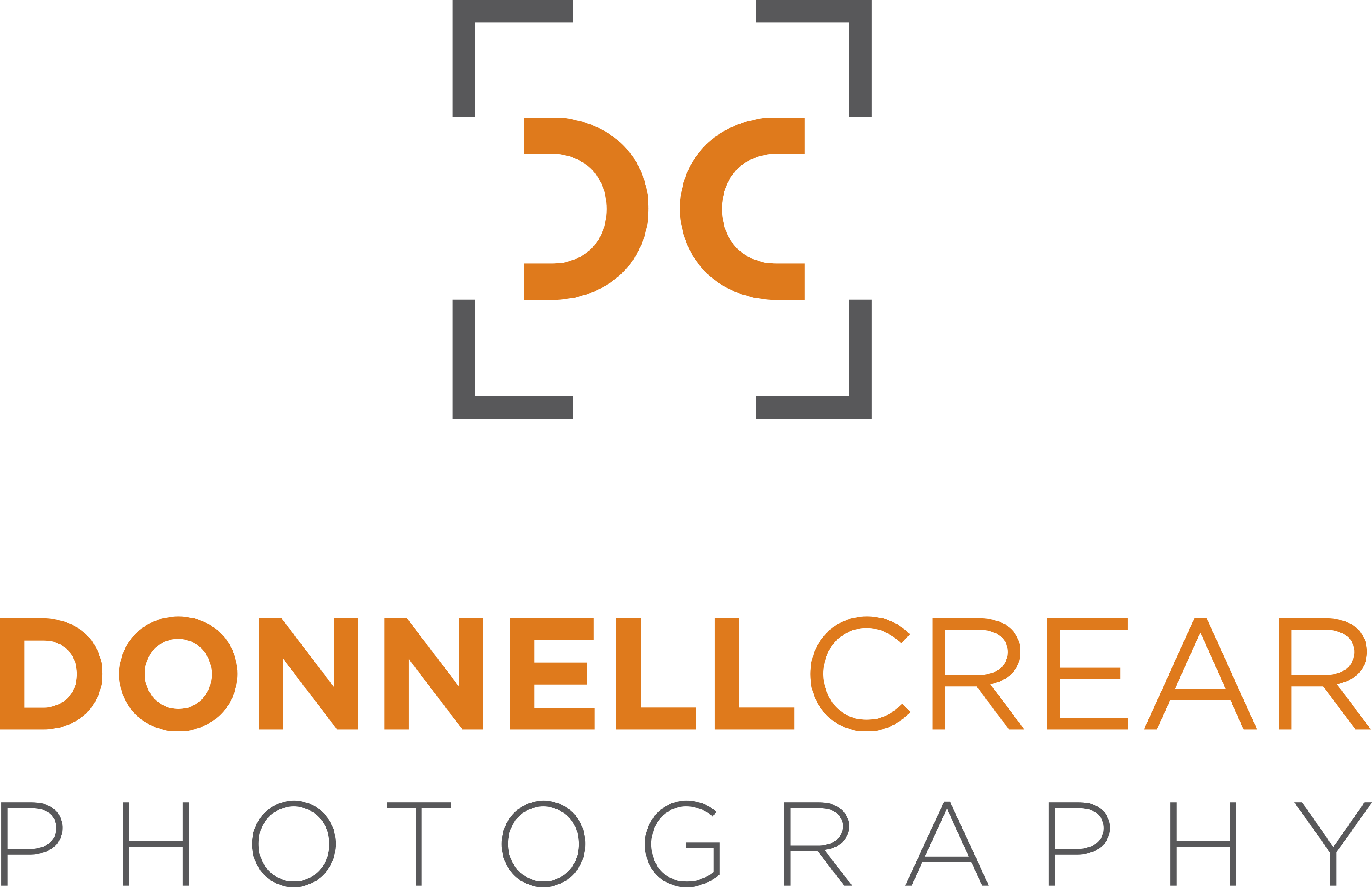 Donnell Crear Photography Logo