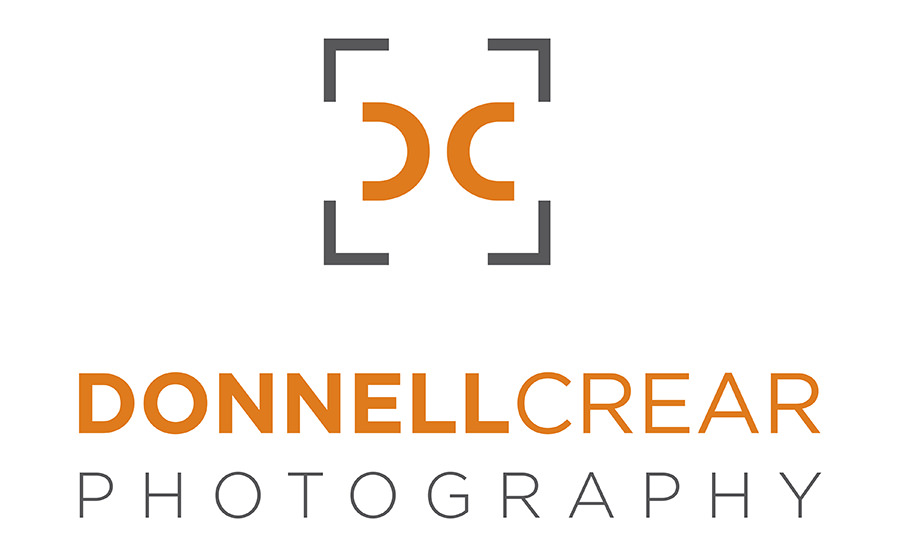 Logo for Donnell Crear Photography one of the best wedding photographers in greenville sc