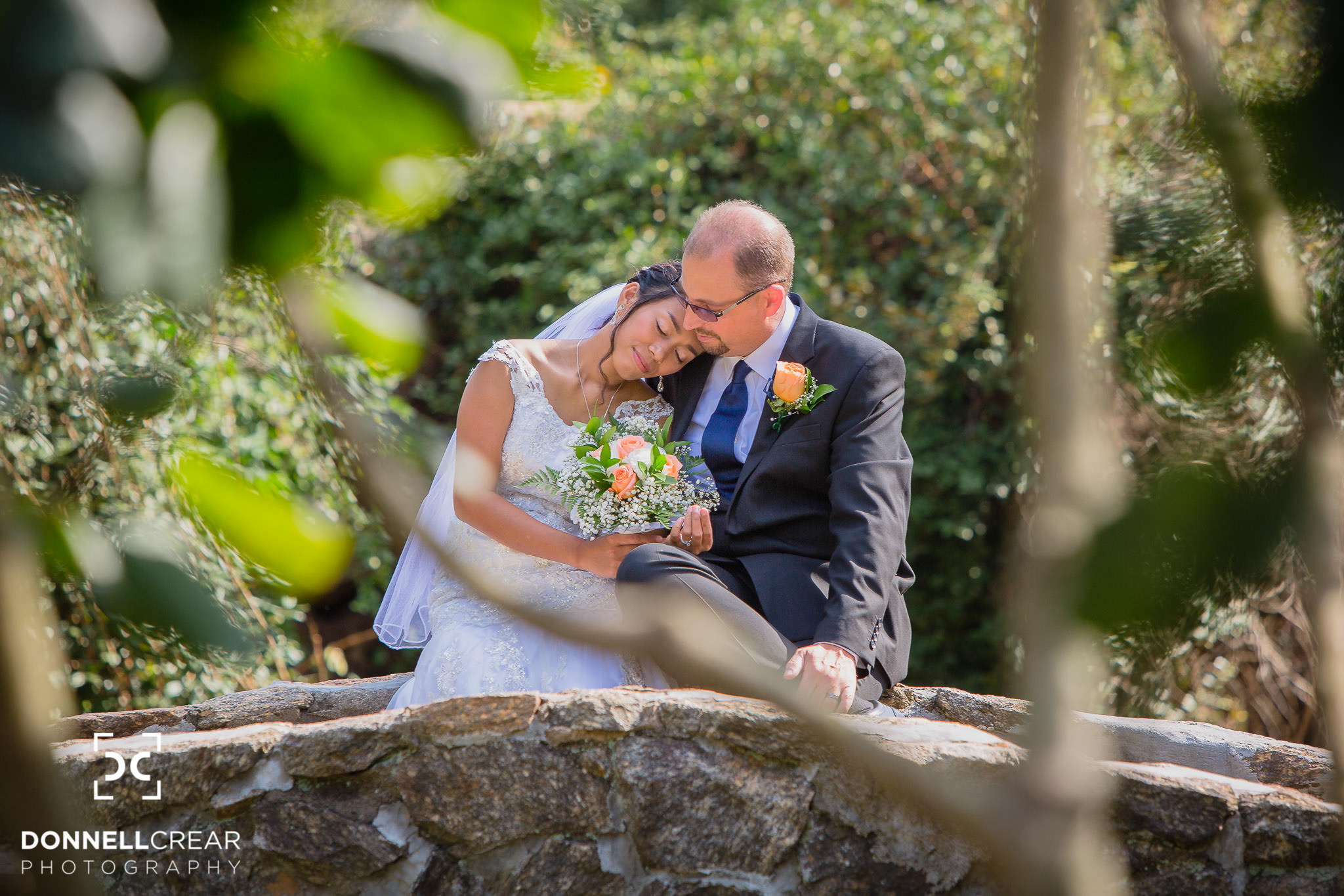 Charming Rock Quarry Garden Wedding | Joy + Greg